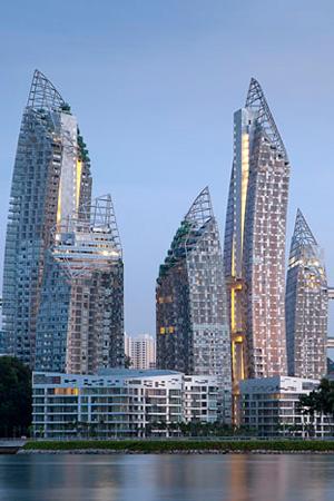 Reflections at Keppel Bay, Singapura