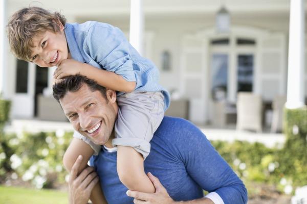 baner pai e filho