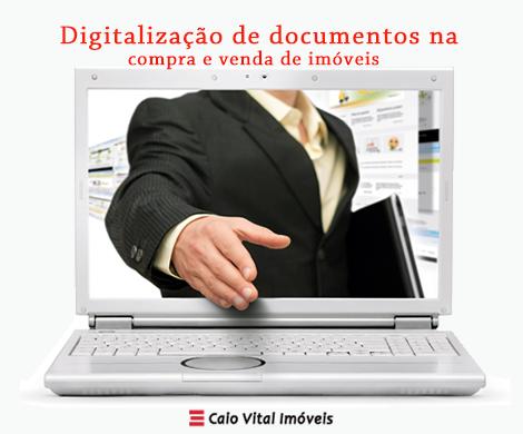 Digitalização de documentos imóveis