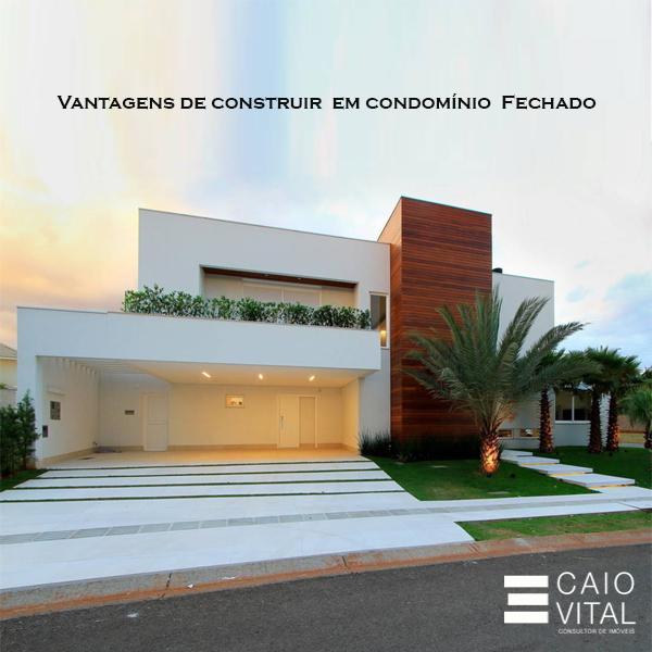 Descubra 6 vantagens de construir em condom nio fechado - Piano casa in condominio ...